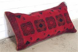 Sale 9157 - Lot 1002 - Persian Bokhara cushion (96 x 51cm)