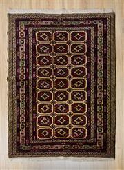 Sale 8576C - Lot 67 - Persian Turkman 180cm x 130cm