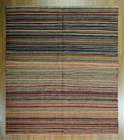 Sale 8625C - Lot 39 - Afghan Chobi Stripe 180cm x 157cm