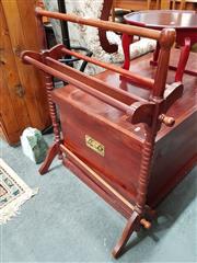 Sale 8676 - Lot 1051 - Timber Towel Rail