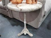 Sale 8740 - Lot 1045 - Iron Base Occasional Table