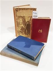 Sale 8822B - Lot 850 - 4 Volumes incl. Meredith, G. The Egoist, pub. Constable & Co., 1912; Maugham, W.S. The Casuarina Tree, pub. W. Heinemann, 1928;...
