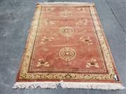 Sale 8988 - Lot 1068 - Pink Tone Woollen Rug (210 x 150cm)