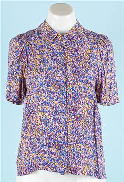 Sale 9091F - Lot 33 - A KAREN WALKER SHIRT; size US 2 UK 6