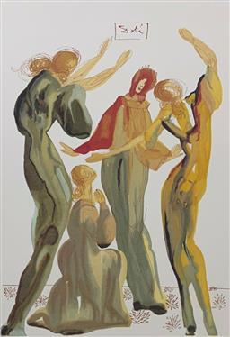 Sale 9108A - Lot 5045 - Salvador Dali (1904 - 1989) - La Danse 63 x 49 cm