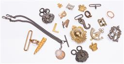 Sale 9190E - Lot 71 - A collection of pins and buttons