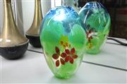 Sale 8339 - Lot 92 - Art Glass Flower Vase