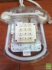 Sale 8435 - Lot 1040 - Vintage Fluophone by Neon Tron