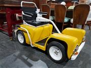 Sale 8765 - Lot 1001 - Vintage Batricmobil Mobility Scooter in Yello