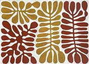 Sale 8781 - Lot 581 - Mitjilli Naparulla (c1945 - ) - Watiya Tjuta (Acacia Trees) 77 x 103cm (stretched and ready to hang)