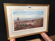 Sale 9053 - Lot 2071 - After Archibald Thorburn, September Siesta decorative print, frame: 66 x 79 cm