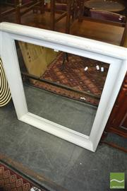 Sale 8383 - Lot 1303 - Large Timber Framed Mirror