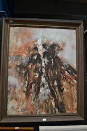 Sale 8453 - Lot 2017 - Artist Unknown (XX) - Riders 75 x 60cm