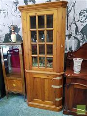 Sale 8469 - Lot 1009 - Pine Corner Cabinet