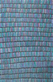 Sale 8575 - Lot 531 - Jeannie Mills Pwerle (1965 - ) - Bush Yam 200 x 130cm