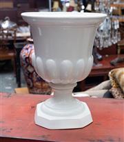 Sale 8746 - Lot 1051 - A white ceramic trophy form urn
