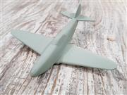 Sale 8809B - Lot 629 - Vintage Recognition Silhouette Spotter Aircraft Model of Yak-3, wooden, as new in original box (wingspan 13cm)