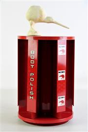 Sale 8944 - Lot 2 - A Kiwi Boot Polish Shop Display (H 40cm)