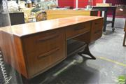 Sale 8310 - Lot 1039 - G-Plan Teak Dressing Table with 3 Mirrors