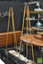 Sale 8364 - Lot 1010A - Pair of Vintage Tripods