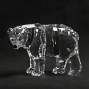 Sale 8412B - Lot 5 - Swarovski Crystal Bear with Box - Height 6.5cm