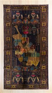 Sale 8576C - Lot 70 - Persian Baluchi 204cm x 110cm