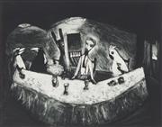 Sale 8773 - Lot 546 - Garry Shead (1942 - ) - The Supper 24.5 x 32cm