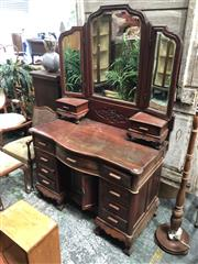 Sale 8822 - Lot 1835 - Mirrored Back Dresser with 11 Drawers