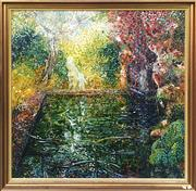 Sale 8878 - Lot 2001A - Barry Skinner, Paradise, oil on canvas, 129 x 132cm, signed and dated lower right
