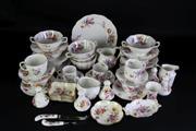 Sale 8940 - Lot 91 - A Royal Crown Derby Derby Posies Part Tea Service (50 Pieces)