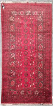 Sale 8962 - Lot 1064 - Afghan Qunduzi (208 x 105cm)
