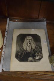 Sale 8391 - Lot 93 - J. Stewart (XIX) (4 works) - Lord Lyndhurst; Hon. John Charles Earl Spencer; Earl of Durham; Hon. James Abercromby 23 x 18cm, each