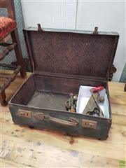 Sale 8601 - Lot 1338 - Brief Case containing Vintage Tools