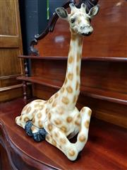 Sale 8697 - Lot 1011 - Ceramic Giraffe