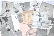 Sale 8733 - Lot 58 - Folder of Boxing Scraps