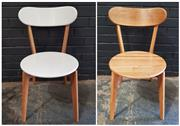 Sale 8979 - Lot 1010 - Set of Four Dining Chairs Together with a Similar Pair
