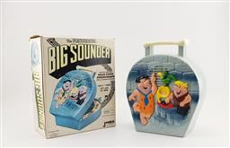 Sale 9134 - Lot 1033 - The Flintstones Big Sounder solid state phonograph in original box by Janex for Hanna-Barbera 1975 (h:23 x w:24 x d:8cm)