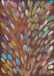 Sale 8415 - Lot 520 - Gloria Petyarre (c1945 - ) - Bush Medicine Leaves 142 x 97cm