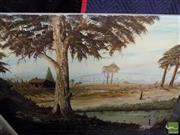 Sale 8453 - Lot 2095 - Paul Wyld (XX) - His Morning Walk, 1985 91 x 121cm