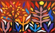 Sale 8492A - Lot 5035 - John Coburn (1925 - 2006) - Autumn, 1988 48 x 72cm