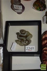 Sale 8509 - Lot 2249 - Jade Couple Copulating