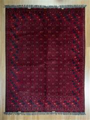 Sale 8625C - Lot 44 - Afghan Qunduzi 207cm x 150cm