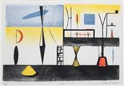 Sale 8652A - Lot 5004 - Peter D Cole (1947 - ) - Studio, 1990 20 x 30.5cm