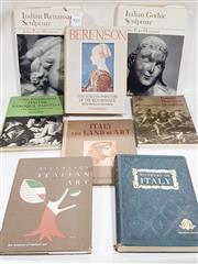 Sale 8822B - Lot 847 - Collection of Italian Art Books incl. Berenson, B. The Italian Painters of the Renaissance, pub. Phaidon, 1959; Wonders of Italy...