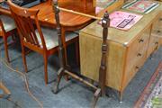 Sale 8472 - Lot 1064 - Timber Towel Rail