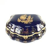 Sale 8545N - Lot 199 - Limoges Jewellery Casket (W: 12.5cm)