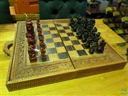 Sale 8620 - Lot 1090 - Cased Chess Set