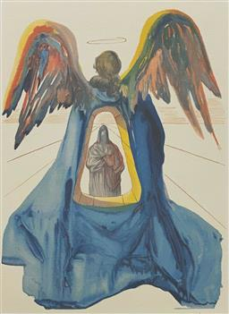Sale 9108A - Lot 5032 - Salvador Dali (1904 - 1989) - Dante Purified 33 x 26 cm