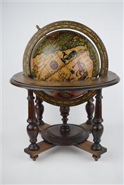 Sale 8381 - Lot 106 - World Globe on Stand