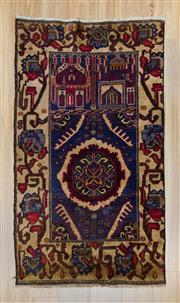 Sale 8576C - Lot 73 - Persian Baluchi 138cm x 79cm